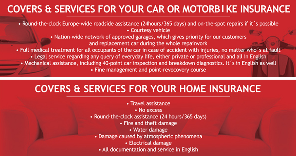 25% discount on car, motorbike, and home insurance